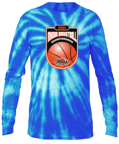 Tie-Dye Blue Long Sleeve