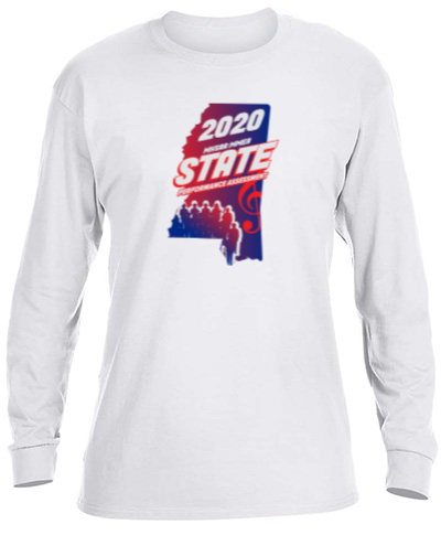Basic Long Sleeve Crew Neck White