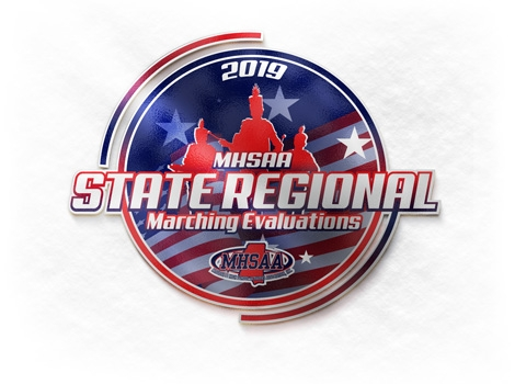 2019 MBA/MHSAA State Regional Marching Evaluations