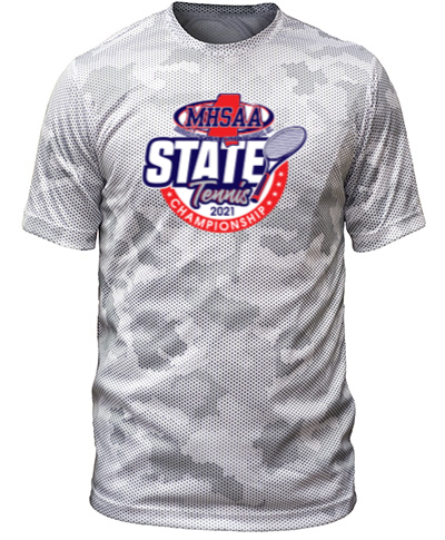 White/Gray Camo Short Sleeve