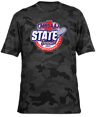 Gray/Black Camo Short Sleeve